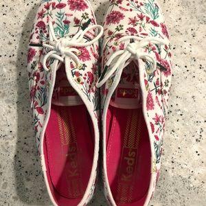 KEDS floral shoes